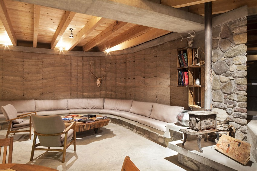 The Cave by Greenfield interior living space