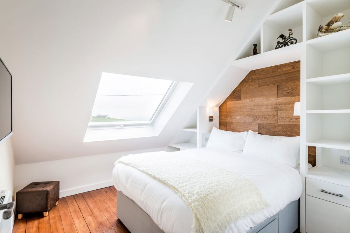 The Chapel holiday cottage bedroom simplicity