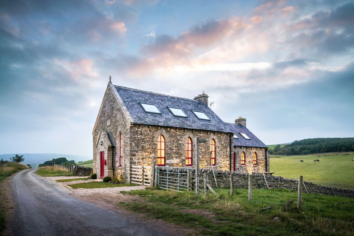 The Chapel holiday cottage location and views