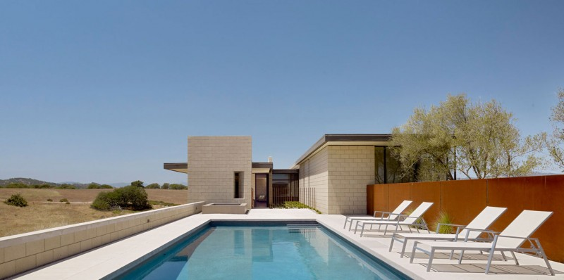 The Paso Robles Residence pool