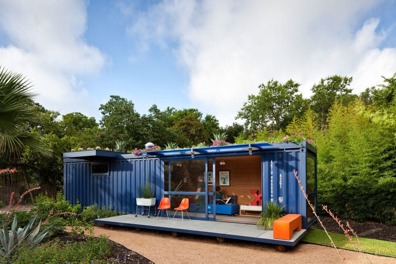 The most beautiful container home