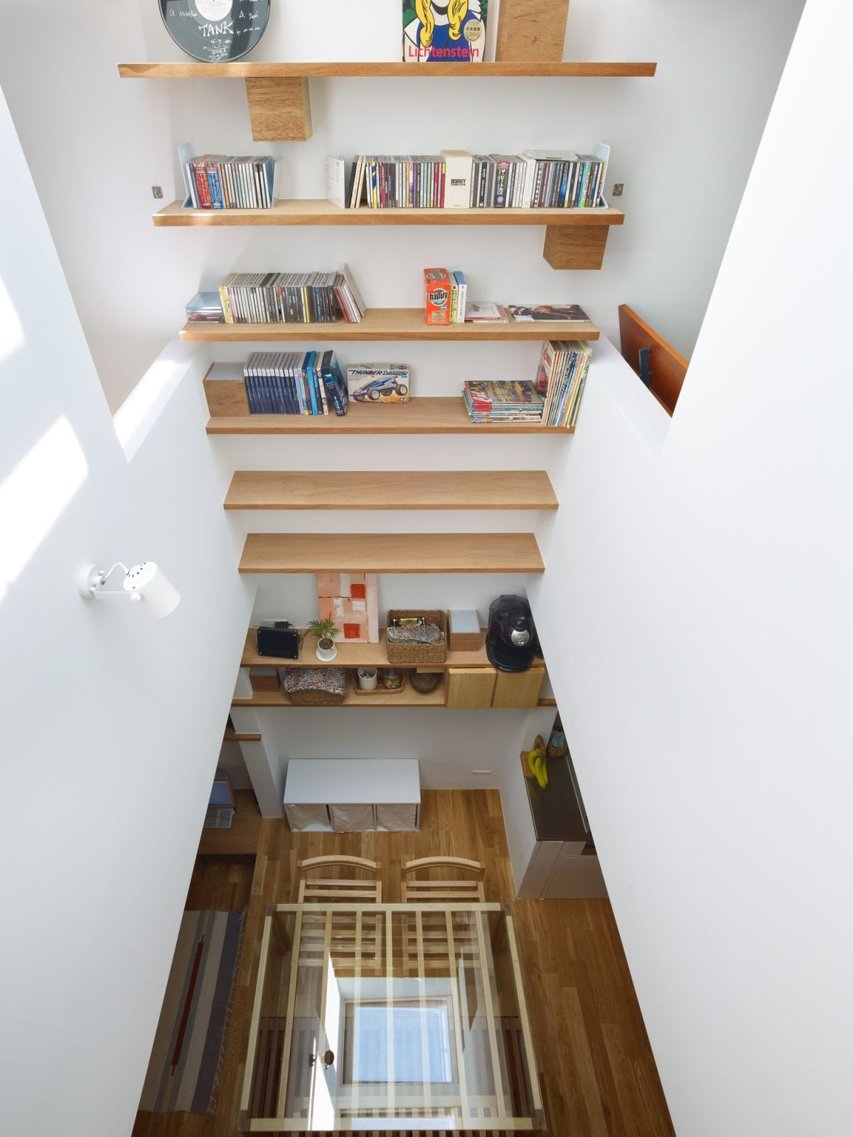 This narrow house in Nada Vertical design