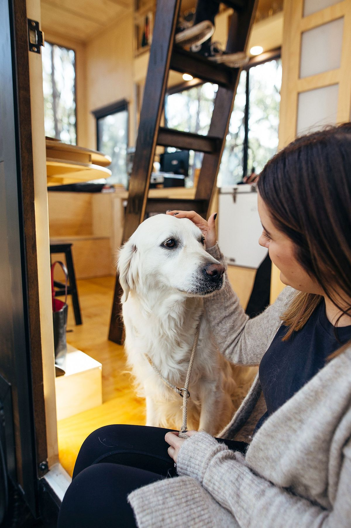 This CABN is a charming retreat, perfect if you want to disconnect from everything and just spend some quality time with your pet