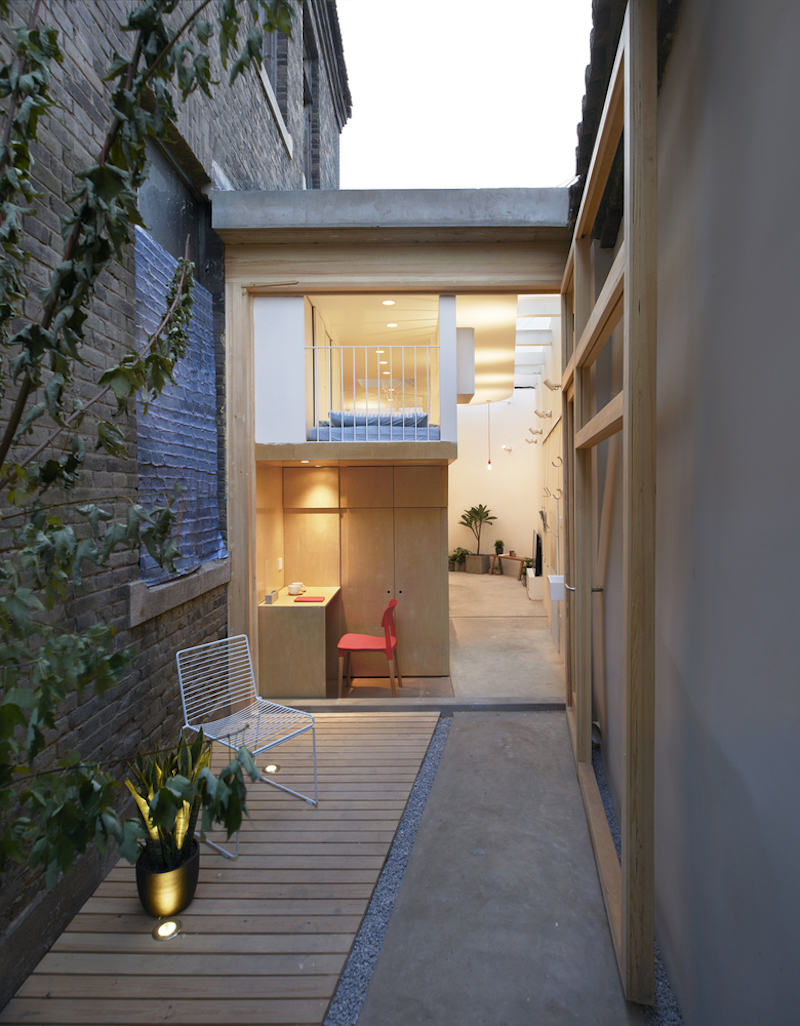 Tiny house in Dongcheng back yard