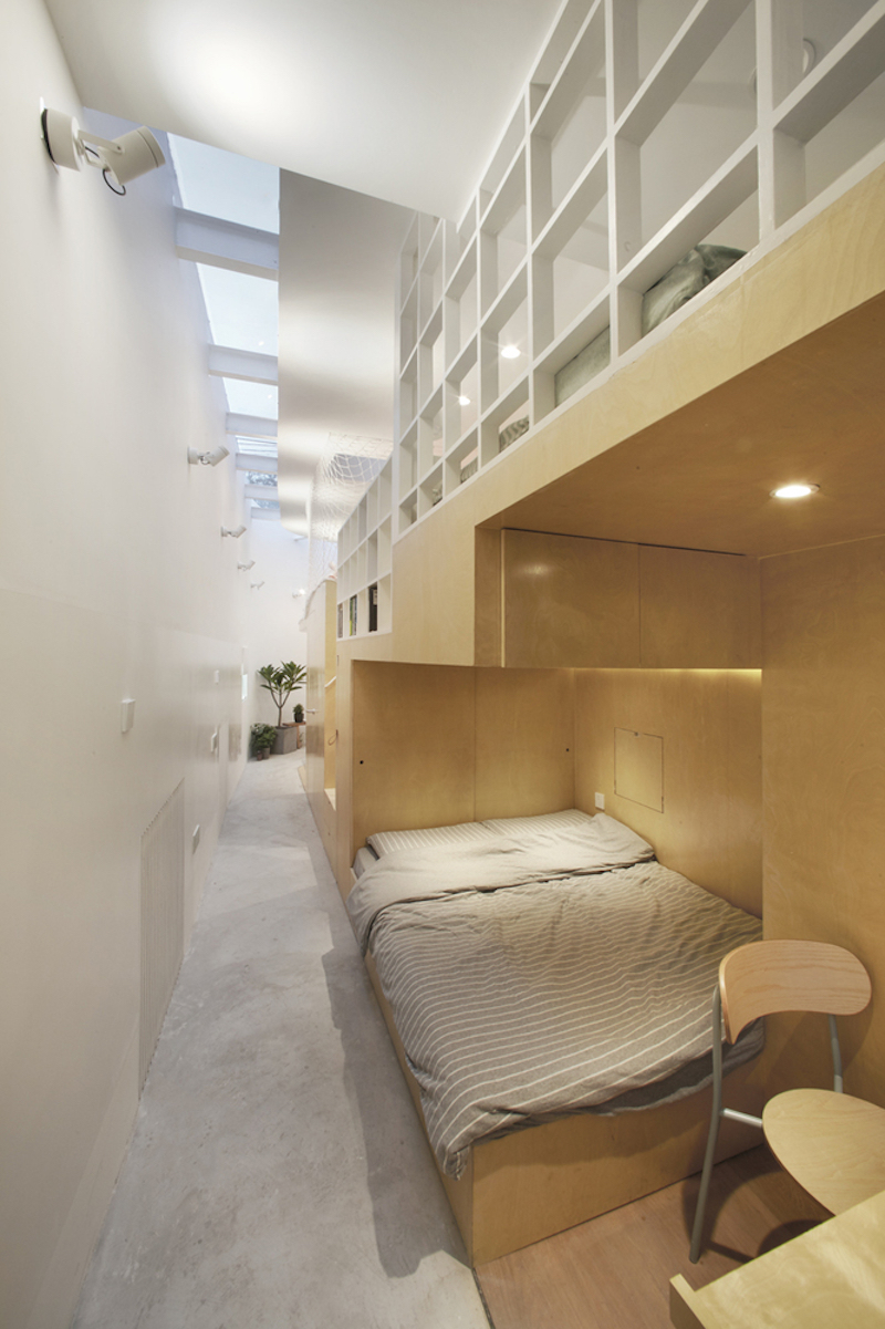 Tiny house in Dongcheng sleeping area