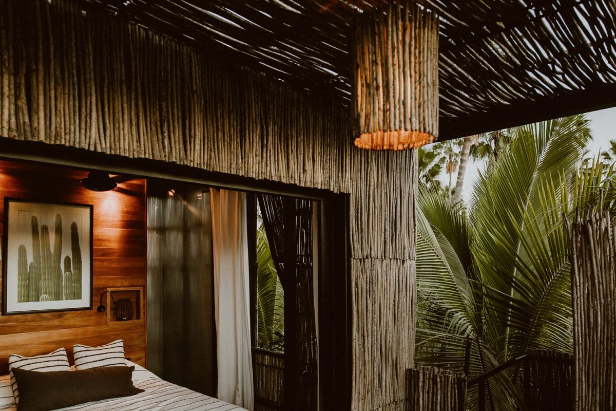 The idea behind this resort was to provide a tranquil and serene experience focused around simplicity