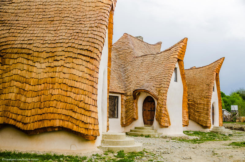 Valley of Fairies retreat pitched roofs