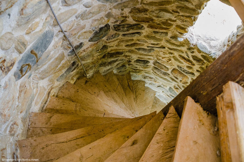 Valley of Fairies retreat spiral staircase