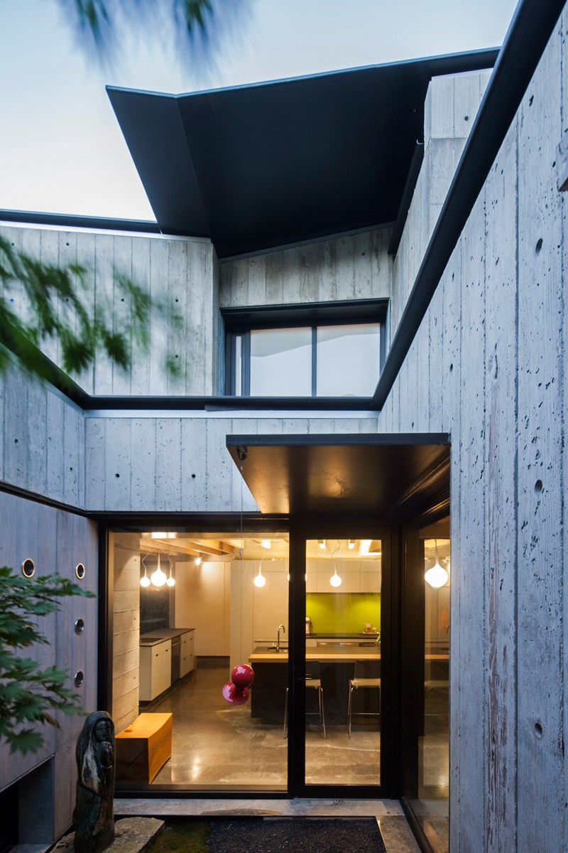 Vancouver grandma house wood marked concrete