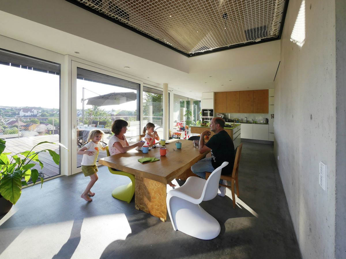 Wilhermsdorf Residence dining area adjacent to terrace