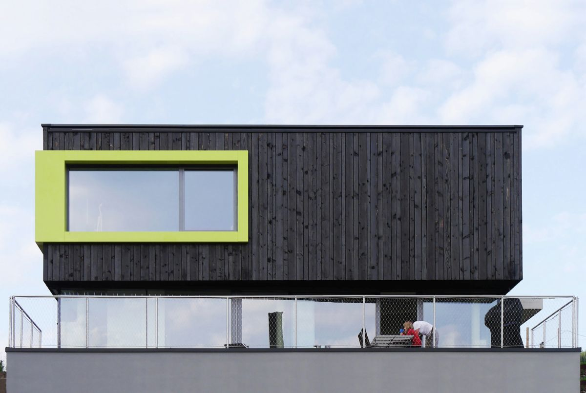 Wilhermsdorf Residence glass ground level and terrace