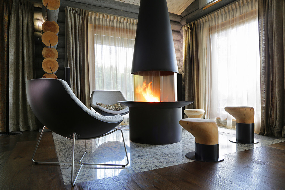 Wooden-Cottage-fireplace