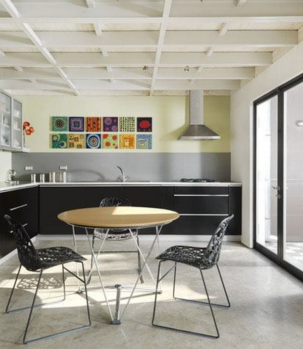 Modern and colorful residence
