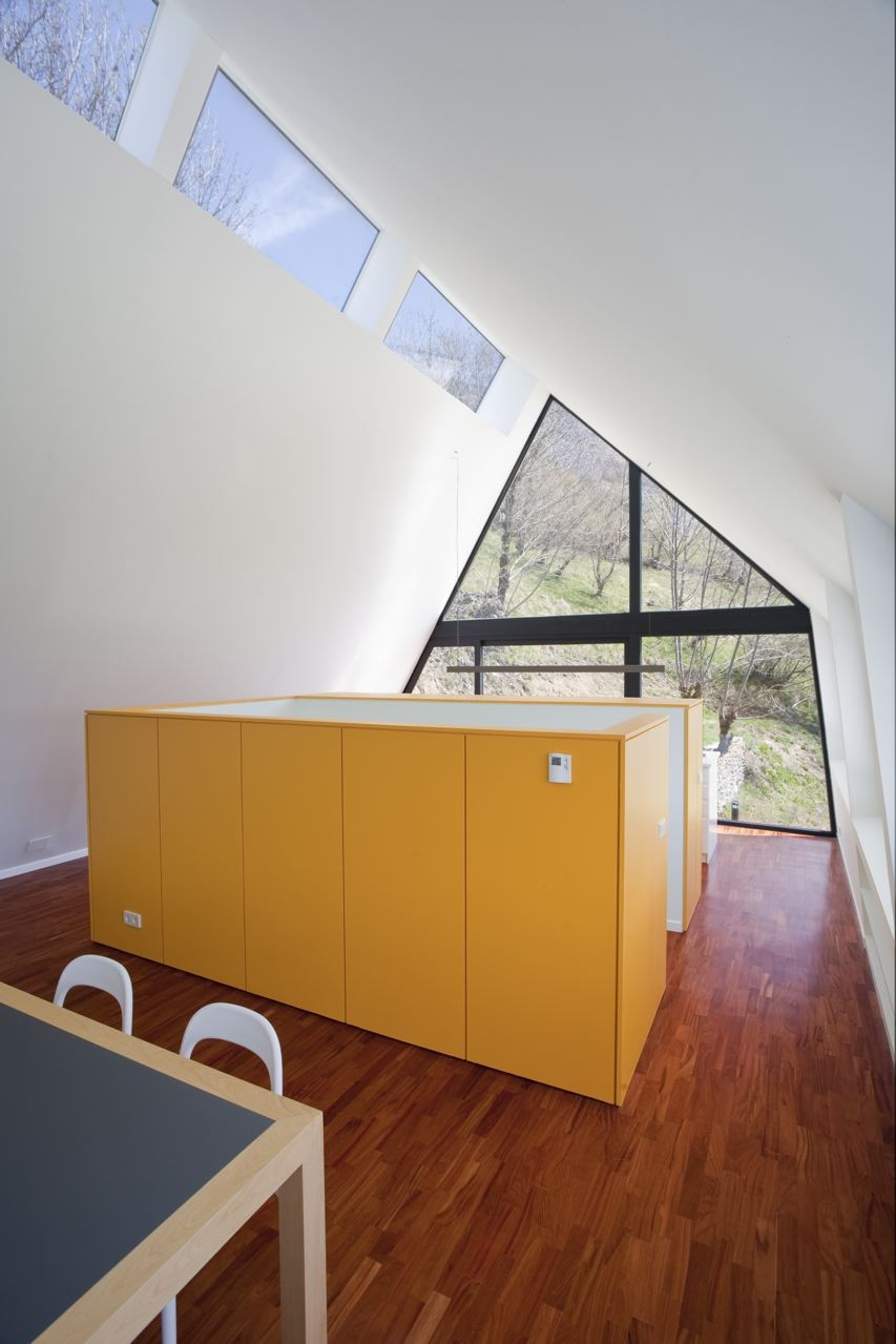 pyrenees home for two yellow accents