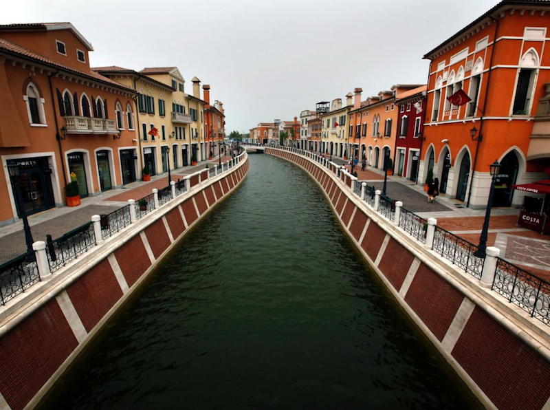 Italy's Grand Canal replicated in Wuqing, China