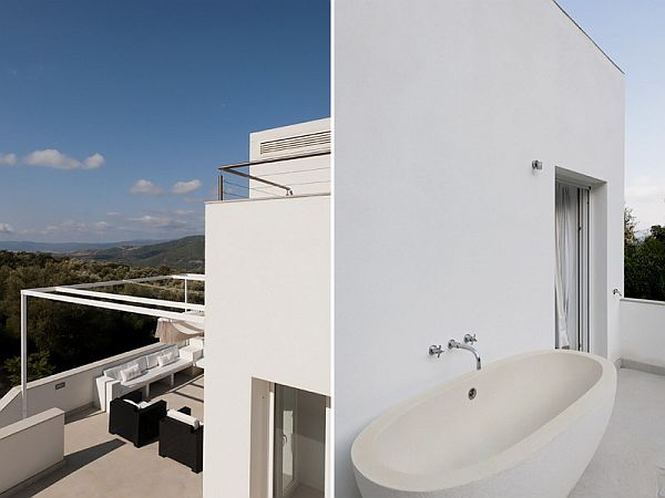 mountainside vacation home in Spain