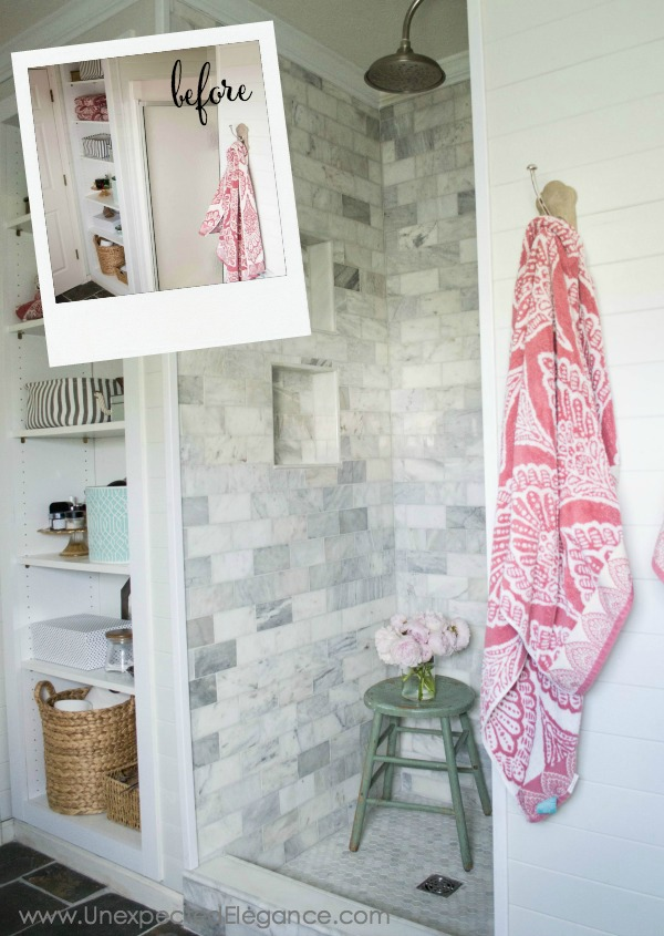 A Beautiful Tiled Shower