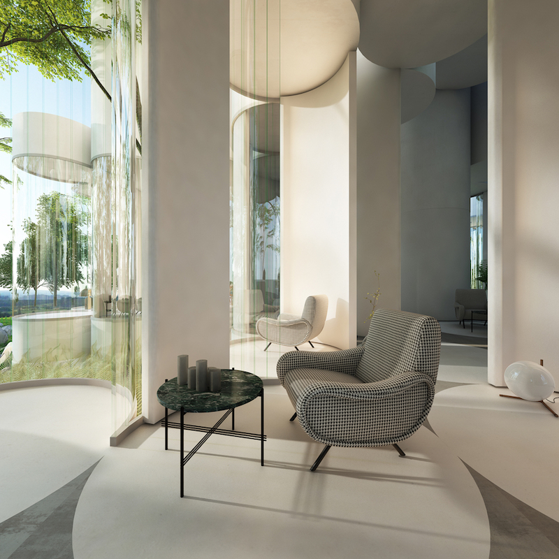 All the spaces are linked to their surroundings as well as to the other interior areas