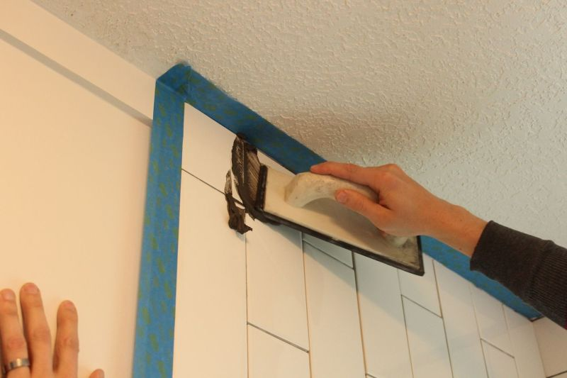 how to grout tile tips