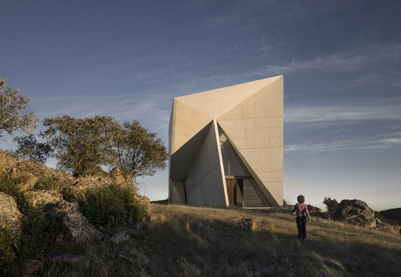 Architecture of Chapel in Valleaceron