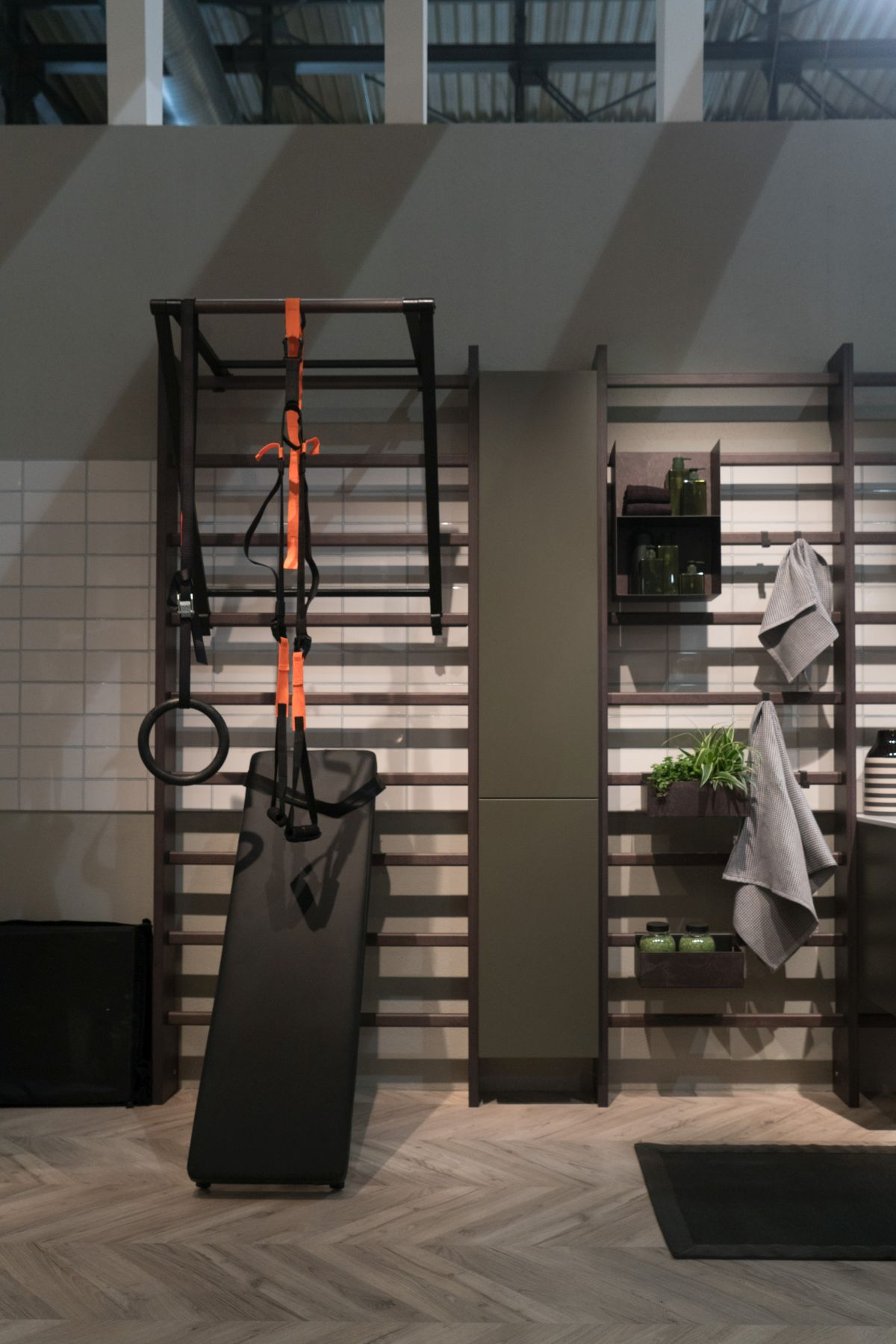 This unusual combo of functions and features allows homeowners to welcomes the ideas of wellness into their everyday lives