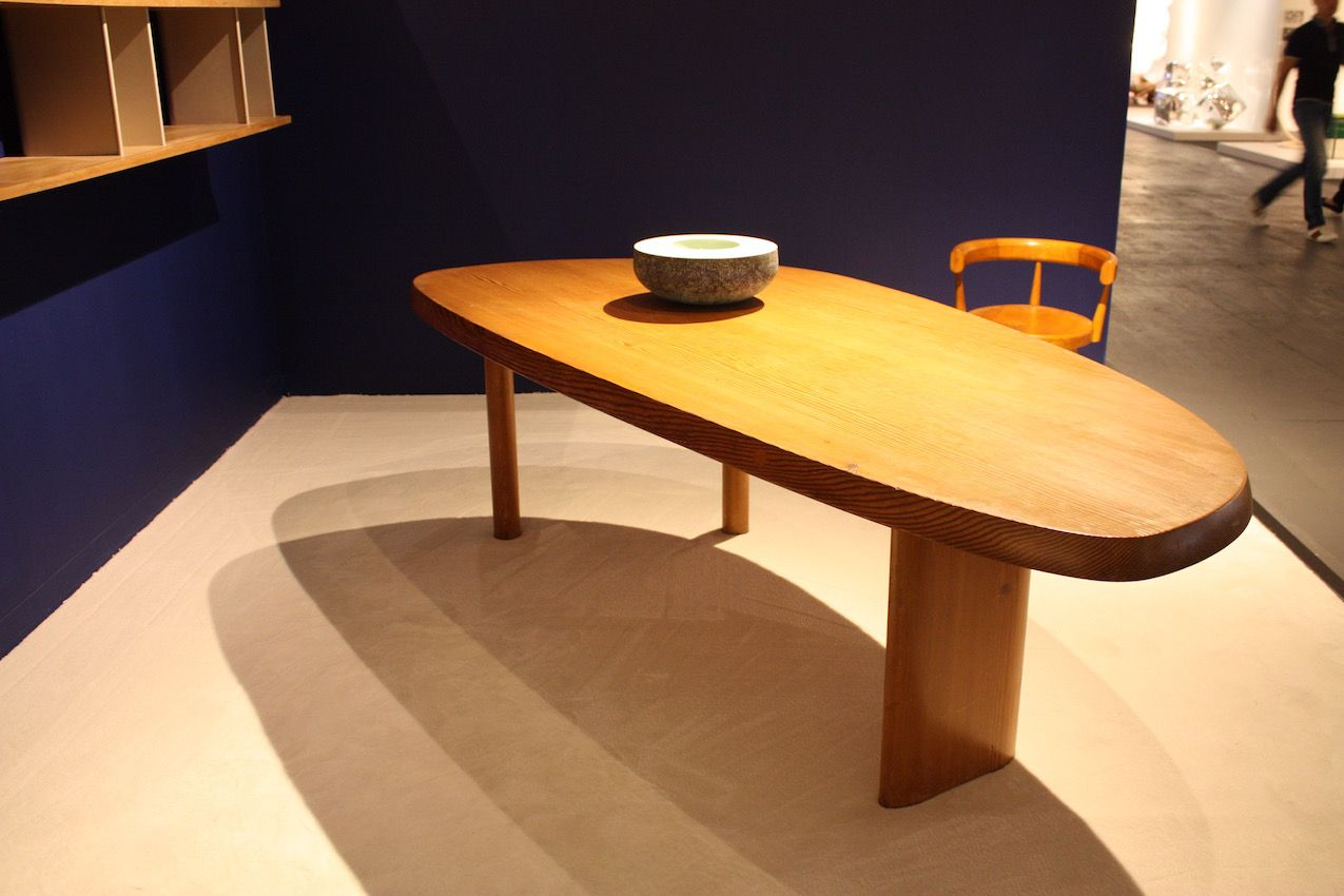 Sometimes beautiful wood, clean lines and a simple shape are all you need to make a statement.
