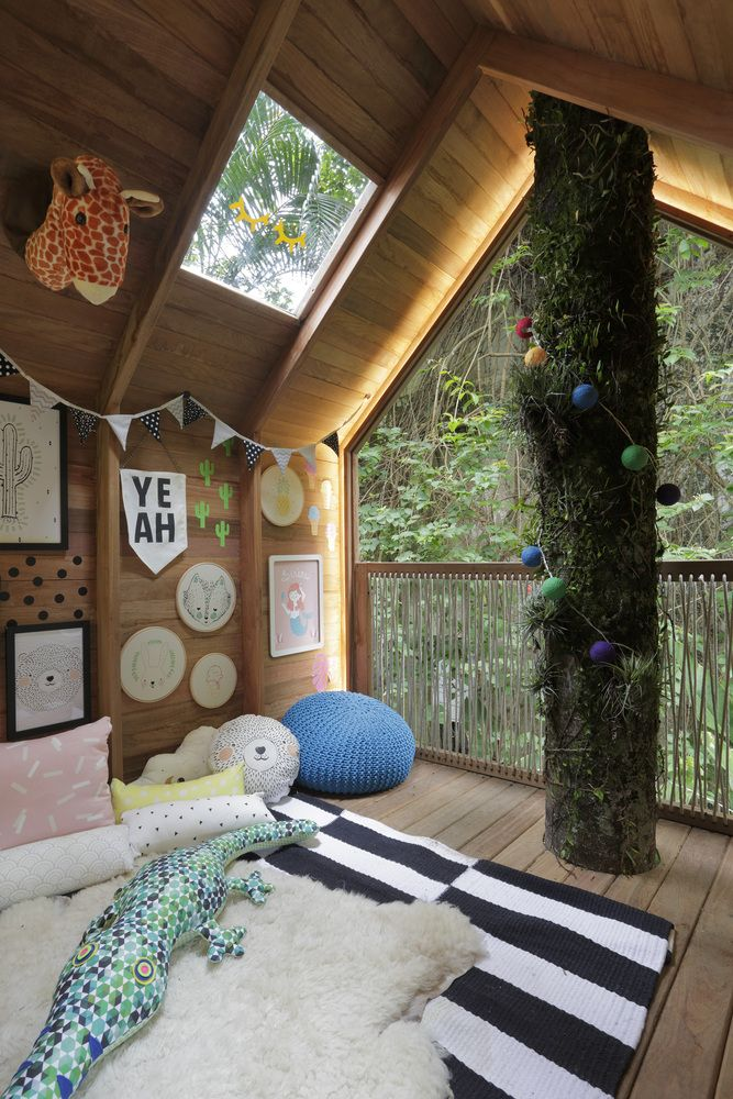 Nature and the outdoors can also be brought inside