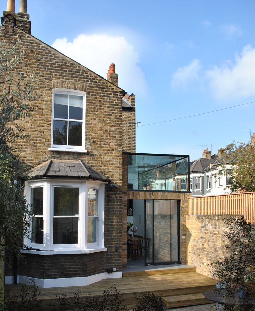 Brick and glass for a London House
