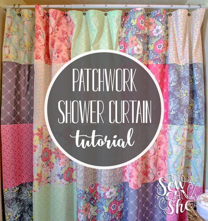Buy a Patchwork Shower Curtain for a Big Look