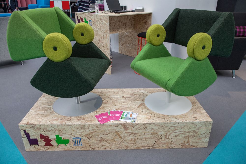 This is a design that explores the playfulness of the color green and its association with certain symbols