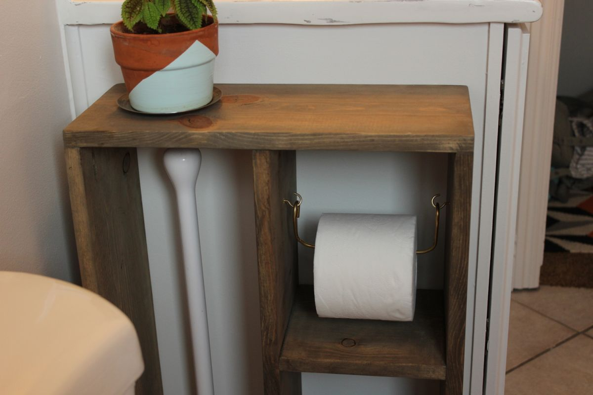 DIY project for toilet paper