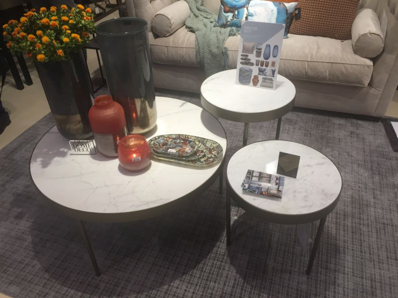 Dome Deco - different sizes vases and candles coffee table