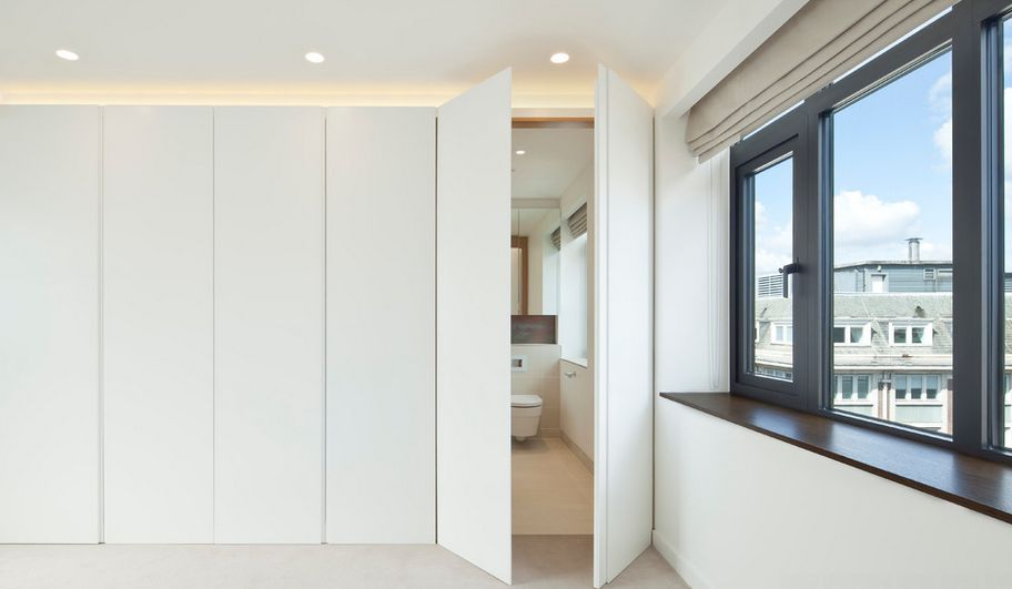 Doors that conceal the passage