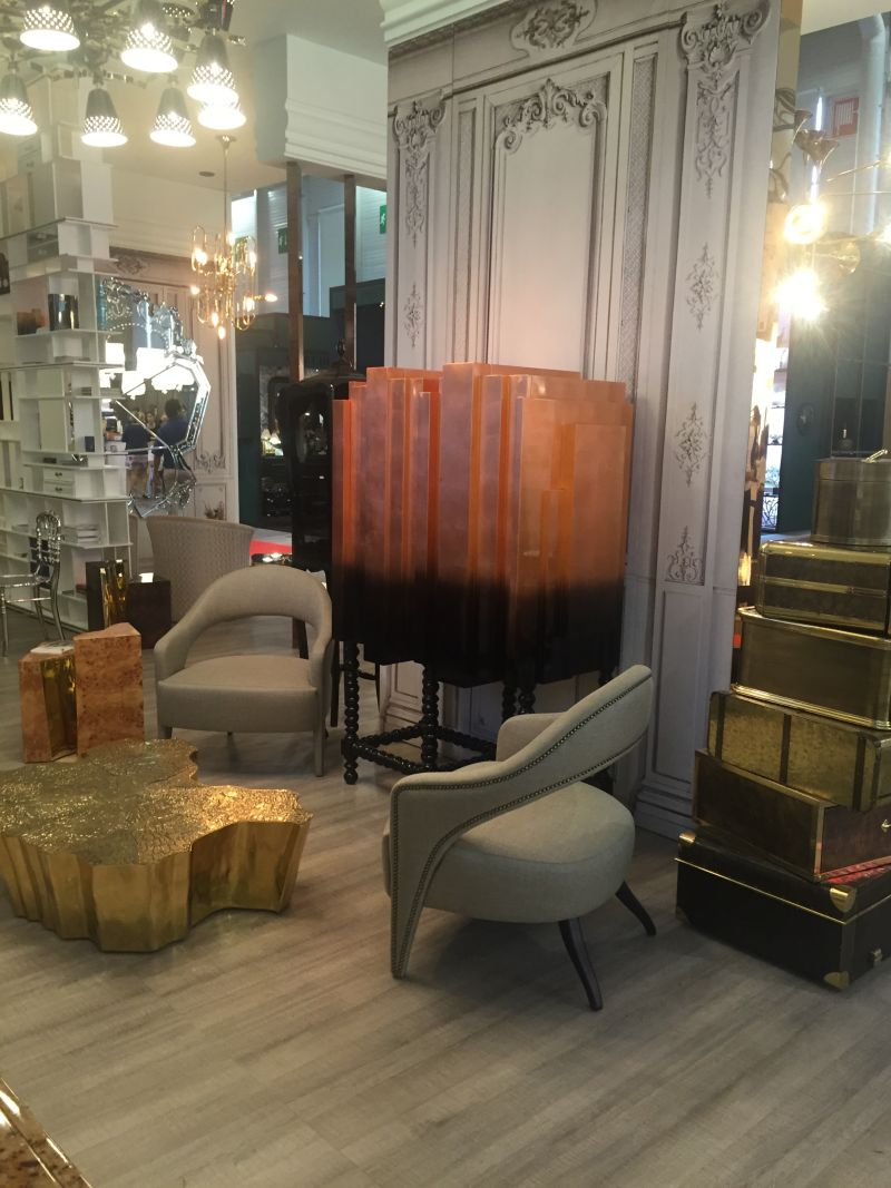 Eden coffee tables in Gold