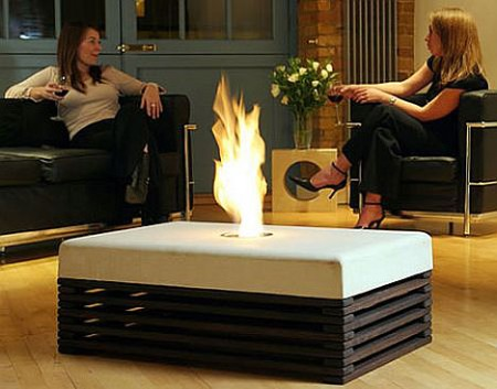 Flame Coffee Tables from Opulent Items2