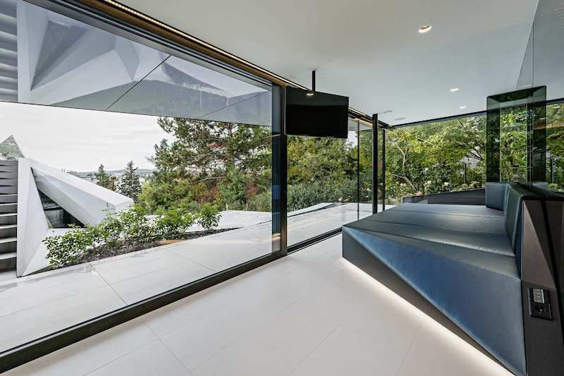 Everything inside the house has been custom-designed for this specific project