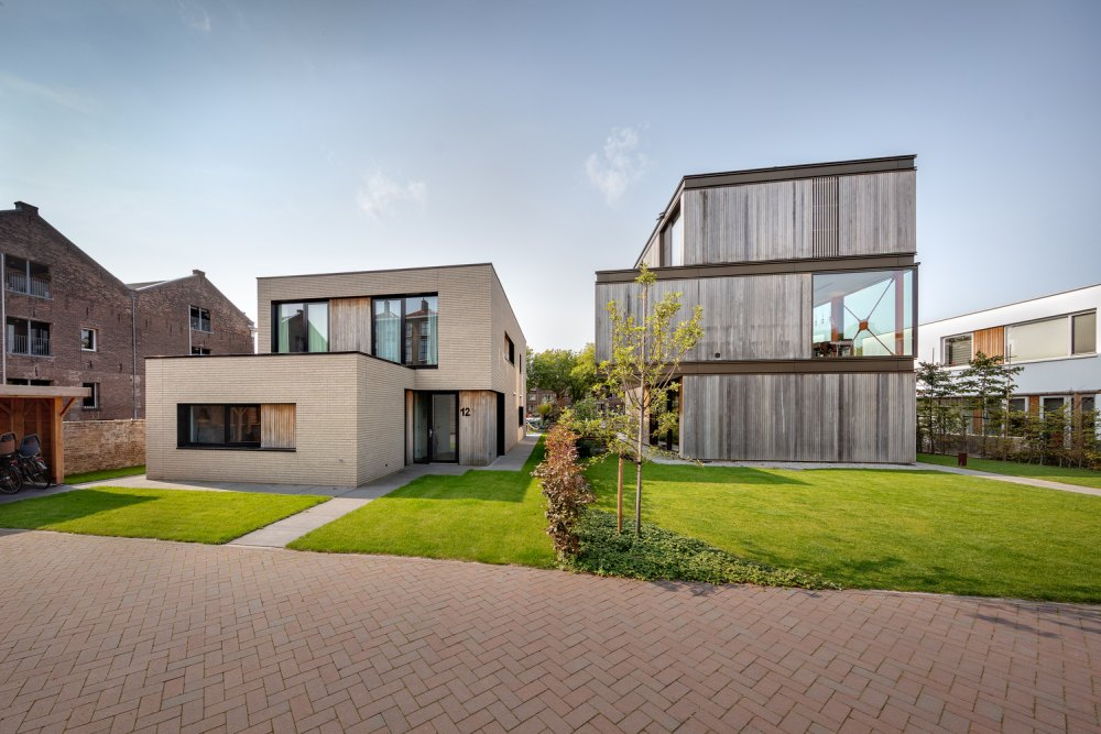A beautiful green lawn surrounds the house and creating a fresh setting