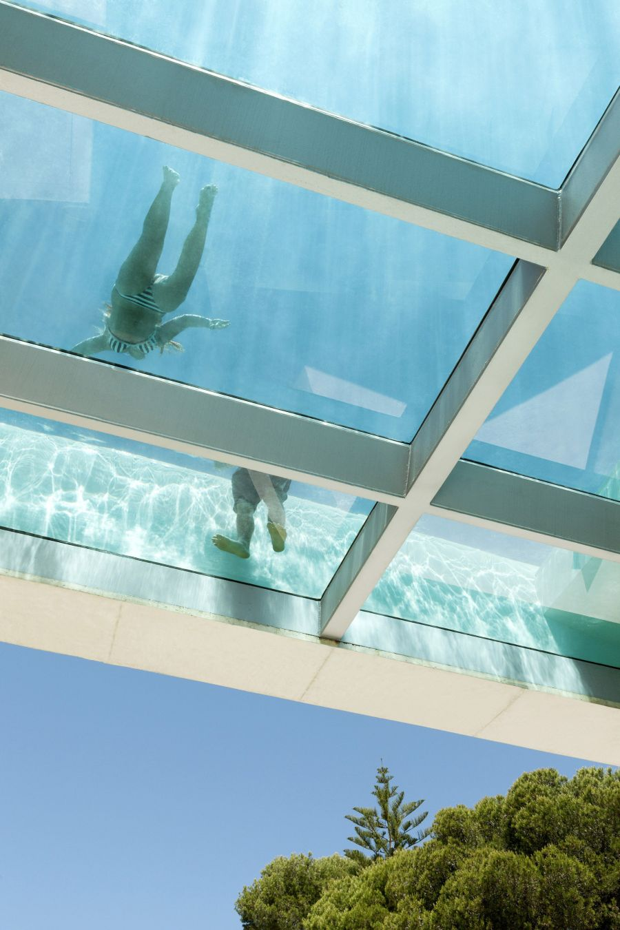Jellyfish House pool on roof