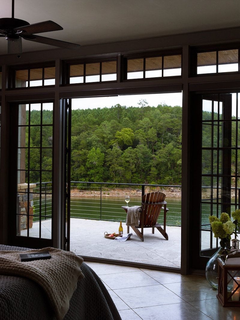 The great outdoors can be enjoyed from a series of versatile spaces that include decks and balconies