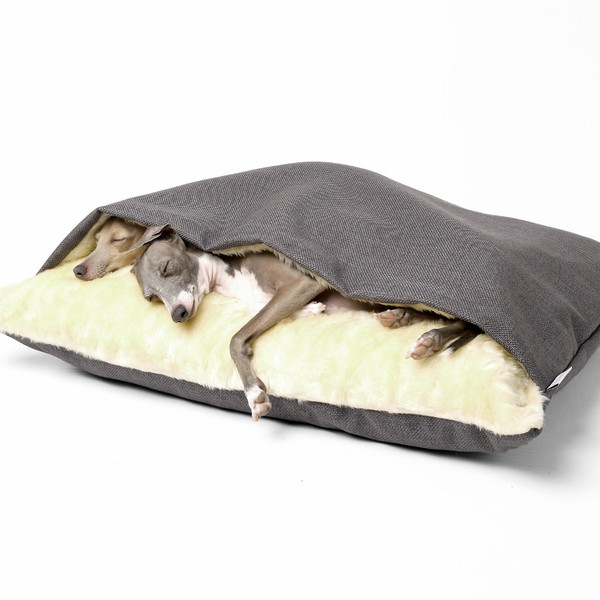 Luxury Dog Snuggle Bed - Weave (4 Colours Available)