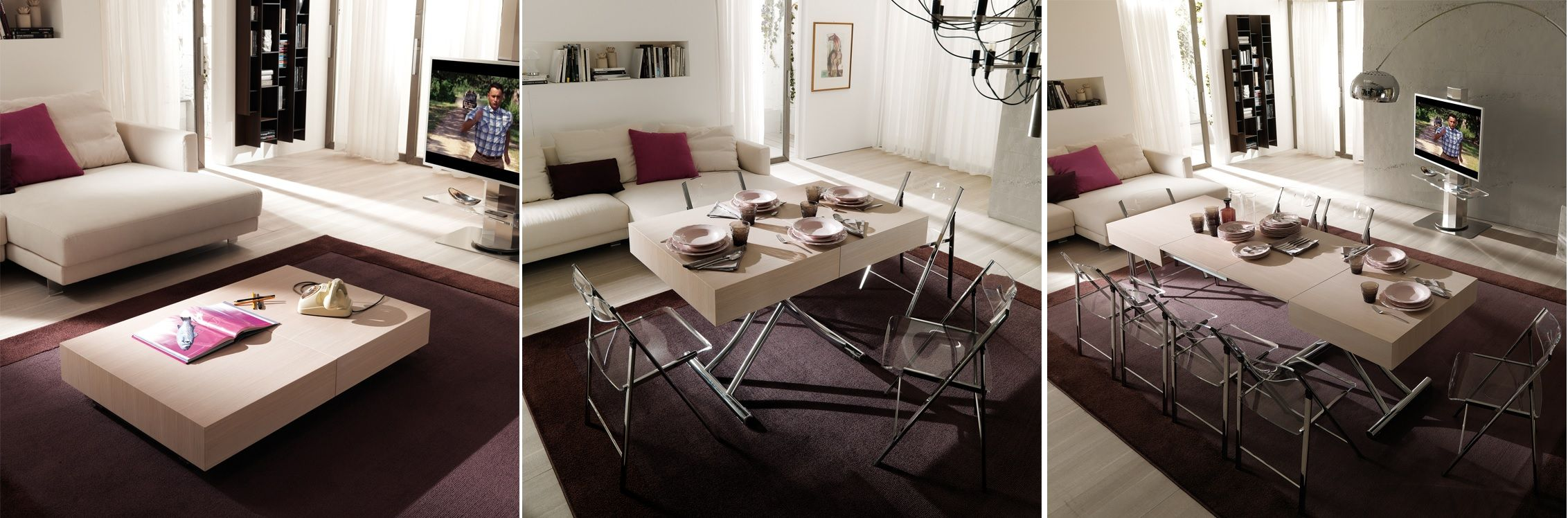 Magnum covertible coffee table