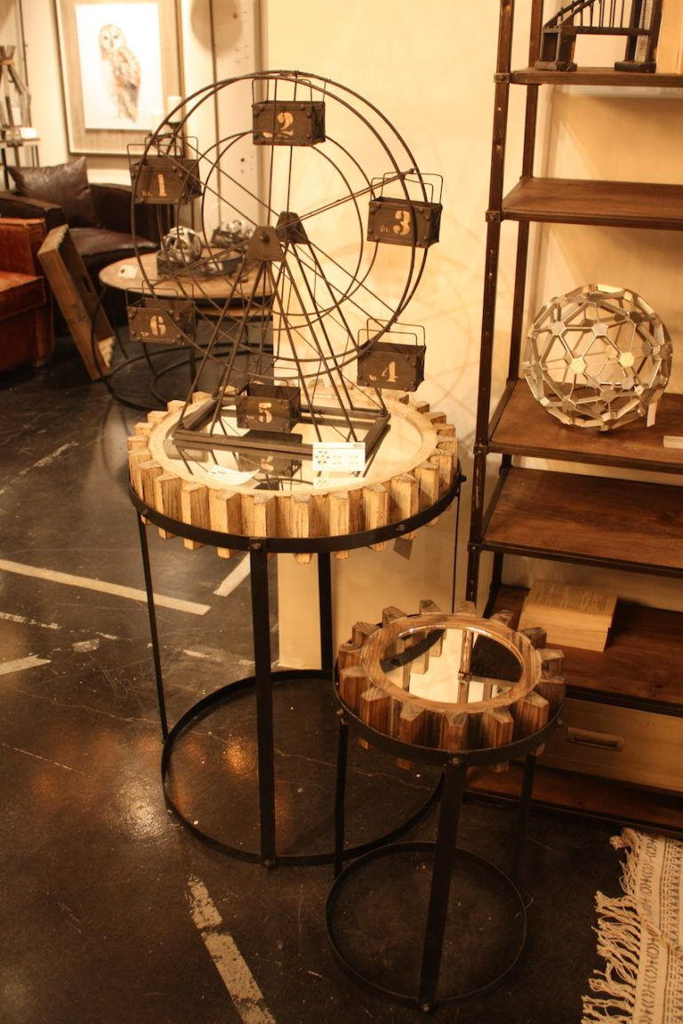 When trying to incorporate salvaged pieces, let your creativity go wild.