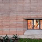 Mexico Rammed Earth House - walls