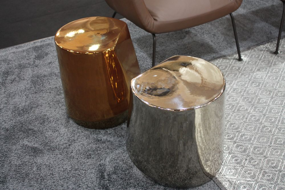 These stools are simple and versatile enough to look beautiful in almost any room of the house