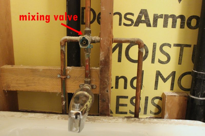 Mixing valve old