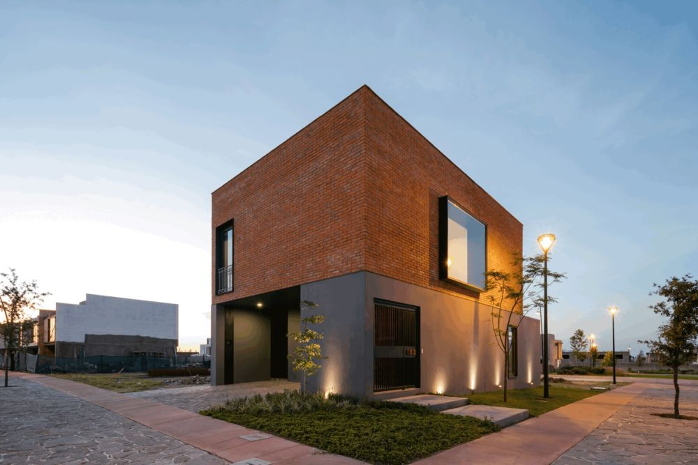 Modern Brick house in Mexico