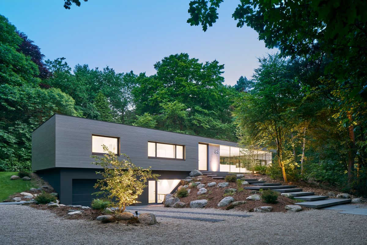 The new design of the house is simple and well-balanced in every sense