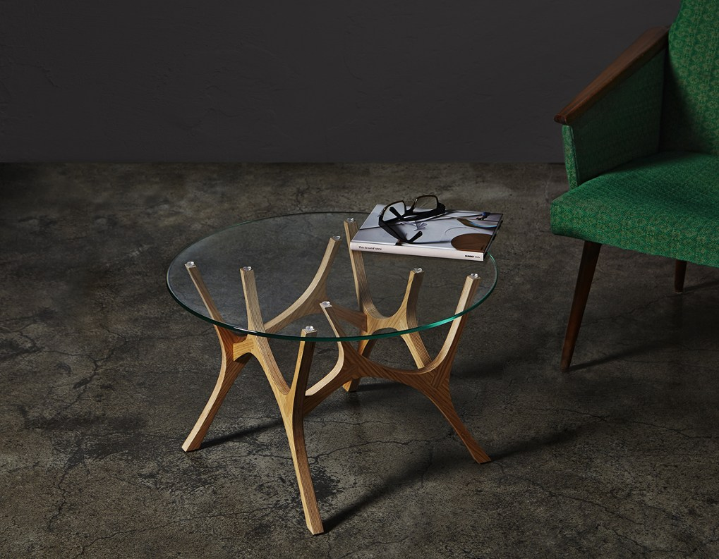 It's easy to see where the inspiration for the Moose coffee table came from, considering how suggestive the design