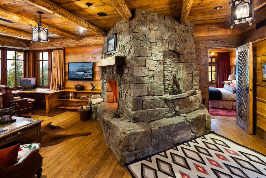 The design of the fireplace and the materials used impact the overall design