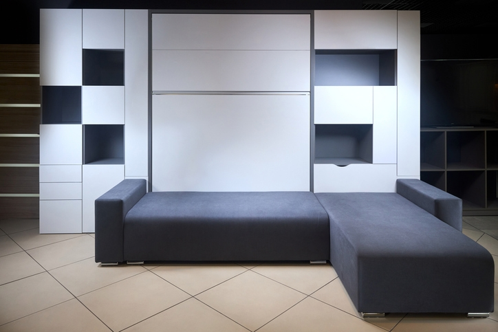 Murphy Bed with a Couch